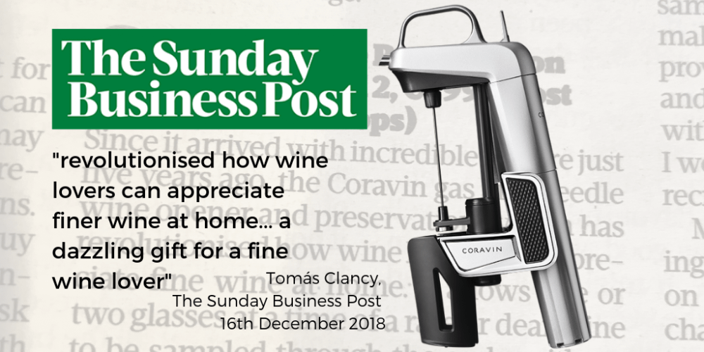 Coravin Sunday Business Post