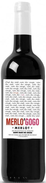 Merlogogo - Domaine Sainte Marie des Crozes,  'Merlo'Gogo Merlot 2020 Vins de France