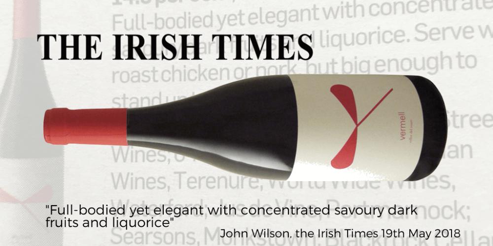 Celler del Roure Irish Times