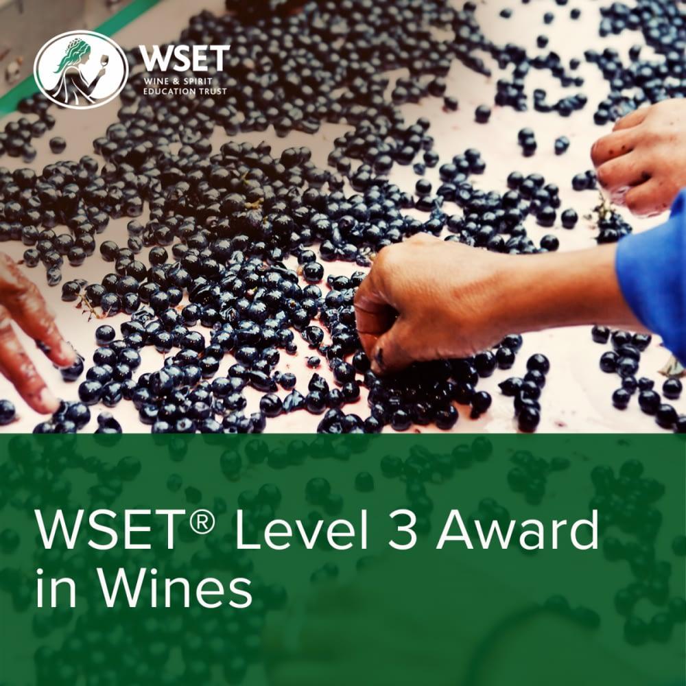 WSET Wines Level3 1600x1600 - Wine Courses