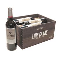Luis Canas Rioja, 6 bottles in wooden case