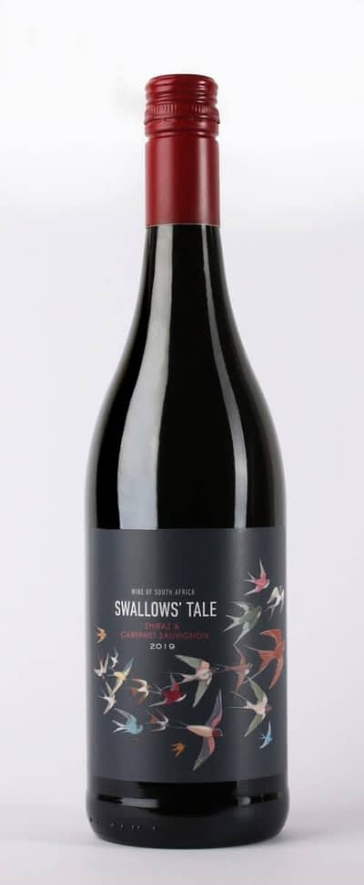 swallows tale red 400x970 - New Trizanne Signature Wines, South Africa - 'New Range Tasting'  - 8x50ml Sample Set