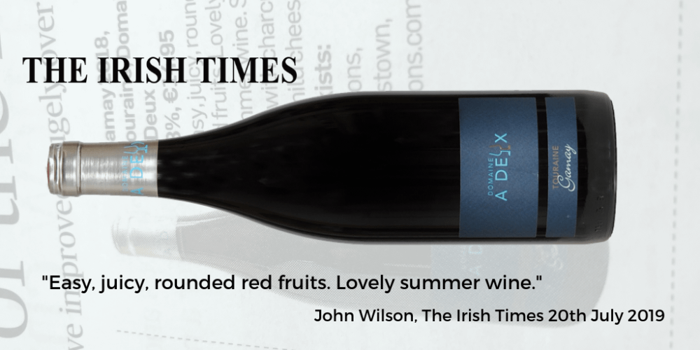 Domaine a Deux Gamay Irish Times