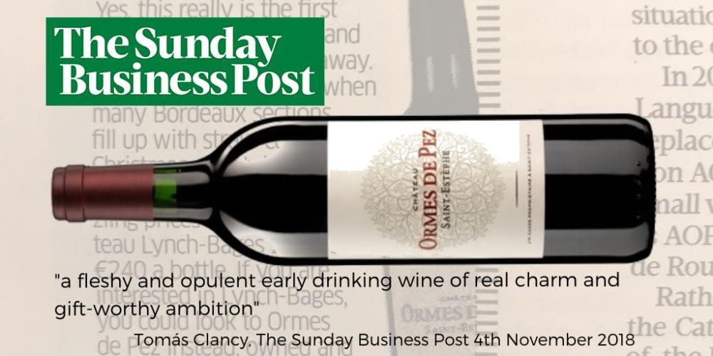 Ormes de Pez Sunday Business Post