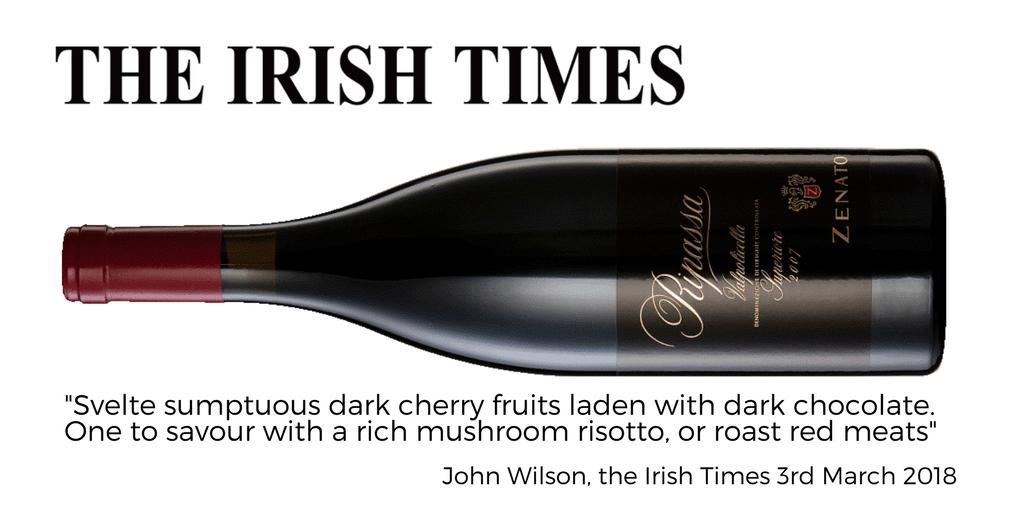 Zenato Ripassa Irish Times