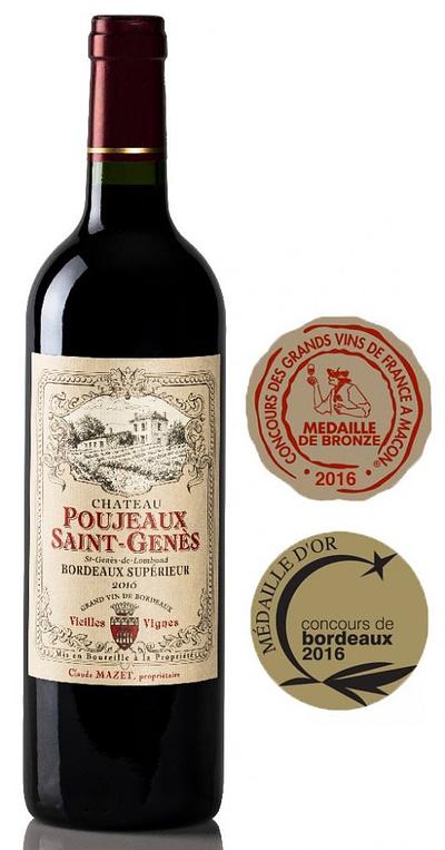 Poujeau St Genes 400x763 - Our Spring Wine Offer