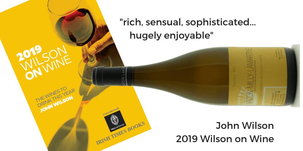 Macon Milly Lamartine 2015 Wilson on Wine 2019