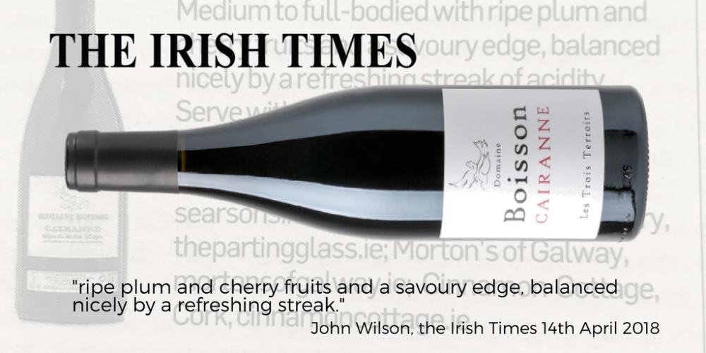Boisson the Irish Times