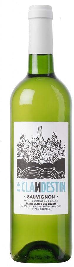 CLANDESTIN 2 1800x551 1 - Domaine Sainte Marie des Crozes, 'Le Clandestin' Sauvignon Blanc 2020 IGP