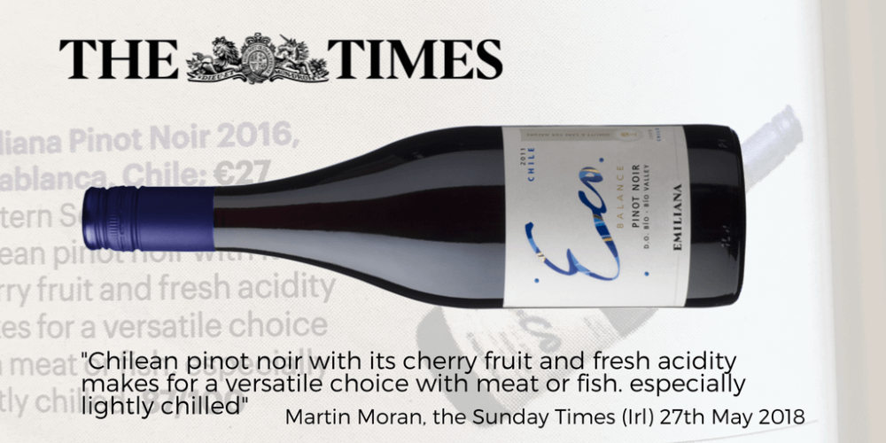 Eco Pinot Noir Sunday Times