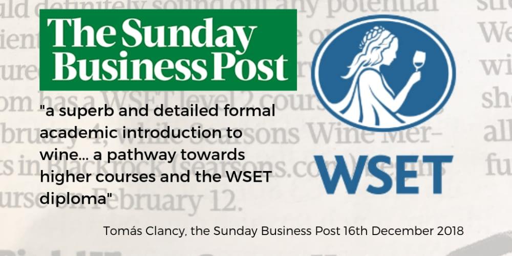 WSET Sunday Business