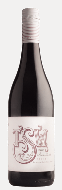 TSW packshots red 2019 200x605 1 - Trizanne Signature Wines Syrah 2019, Swartland