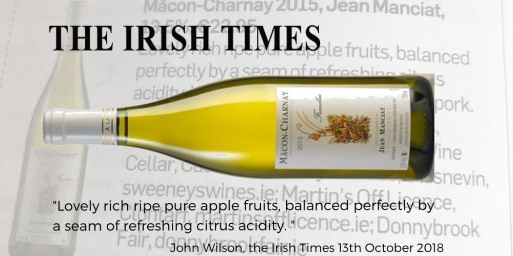 Manciat Macon Charnay Irish Times