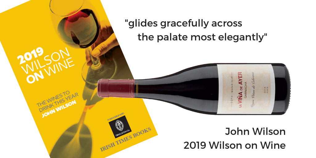 Vina de Ayer 2016 Wilson on Wine 2019