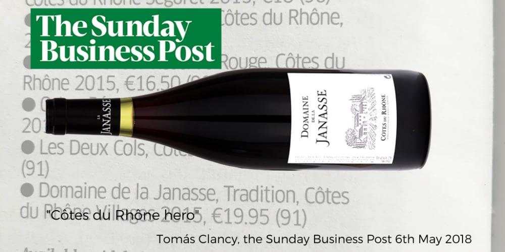 Janasse CDR Sunday Business Post
