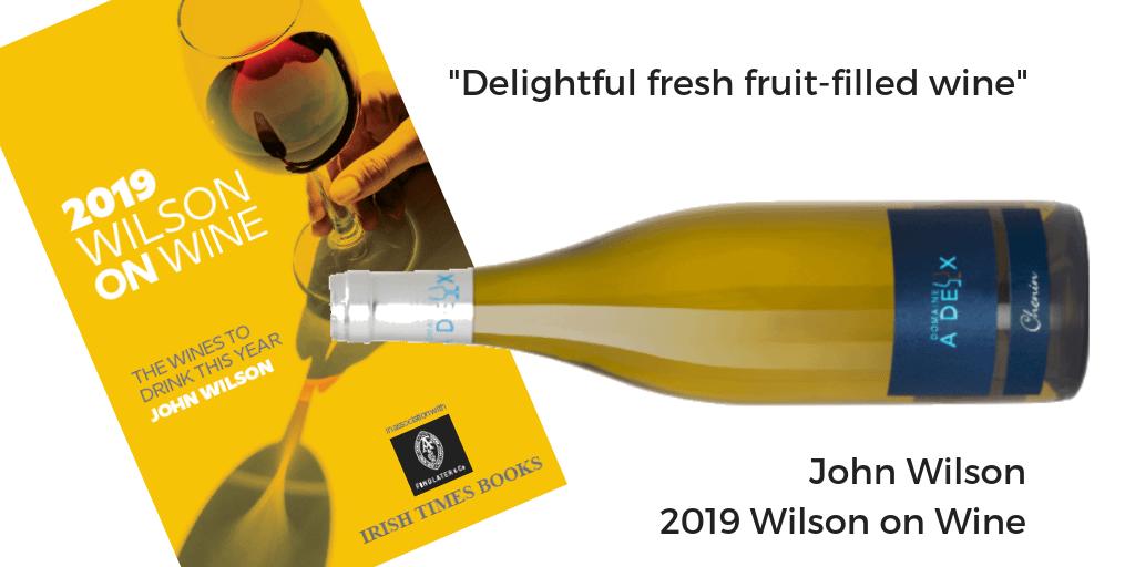 Chenin Blanc 2016 Domaine a Deux Wilson on Wine 2019