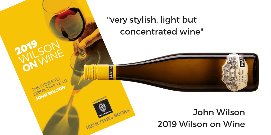 GV Hohlgraben Alte Reben 2016 Malat Wilson on Wine 2019